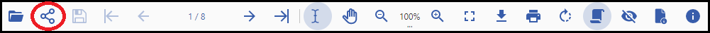 share document button