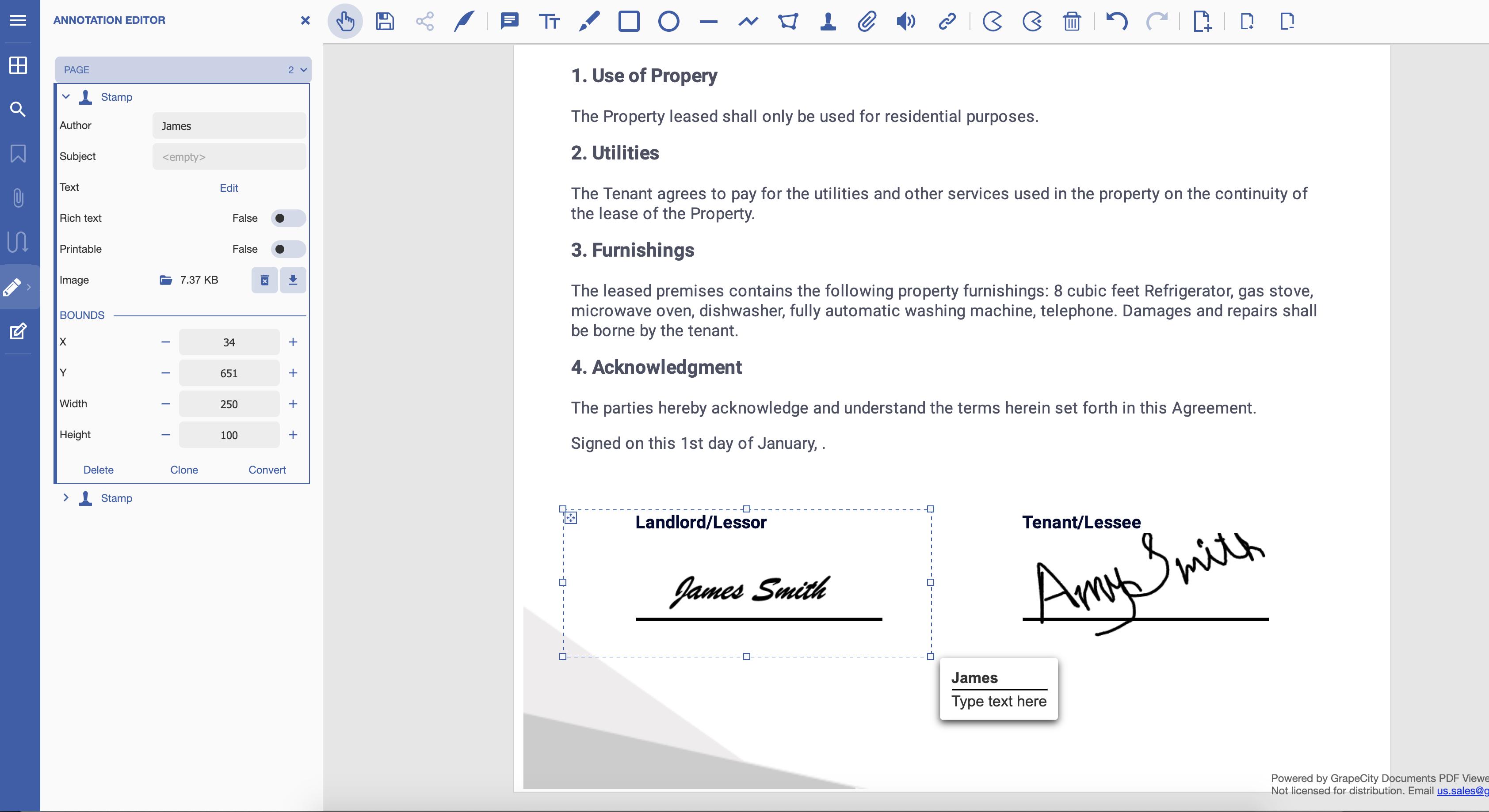 SignatureProperties