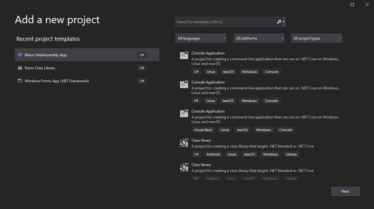AddNewProject