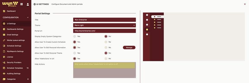 Wyn Enterprise Embedded BI Using iFrame
