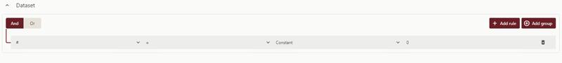 Using Advanced Dataset Filters in Wyn Enterprise