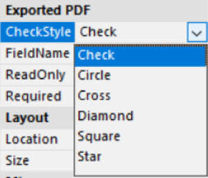 Introduction to Editable Forms in .NET Reports
