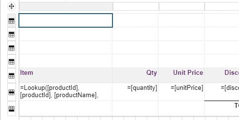 Add Rows to tableOrderDetails Table