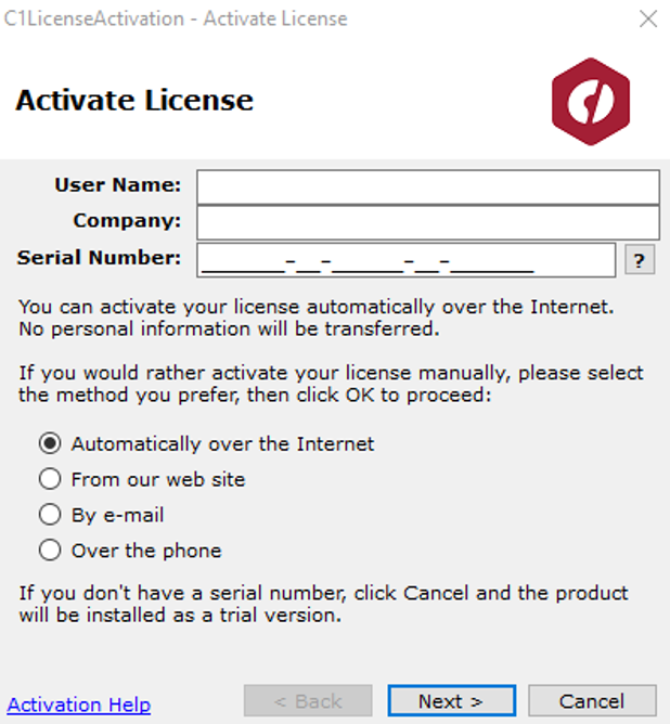 Managing Your Licenses with ComponentOne Controls