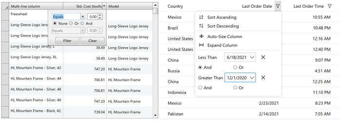 WPF Datagrid to FlexGrid Migration Guide