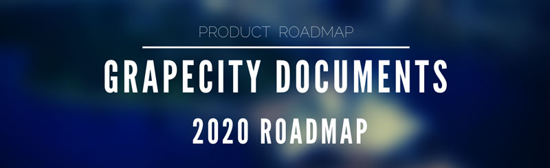 GrapeCity Documents Roadmap 2020