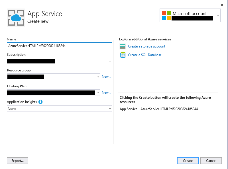 Converting HTML to PDF on Linux Azure App Service