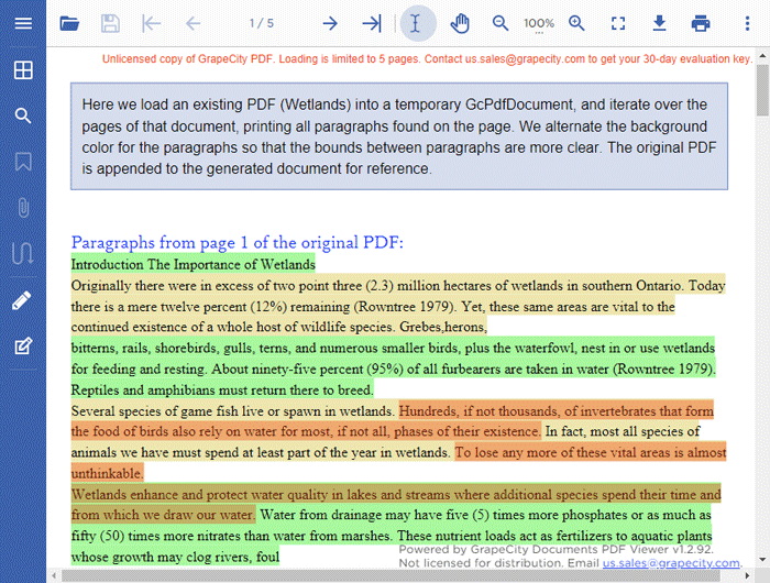 How to Parse and Extract Content from PDF Documents in C# VB.NET