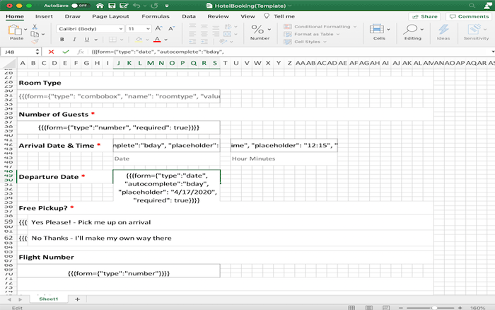 Example of creating a custom input type for PDF form using GcExcel .NET Excel API and GcPdf by GrapeCity