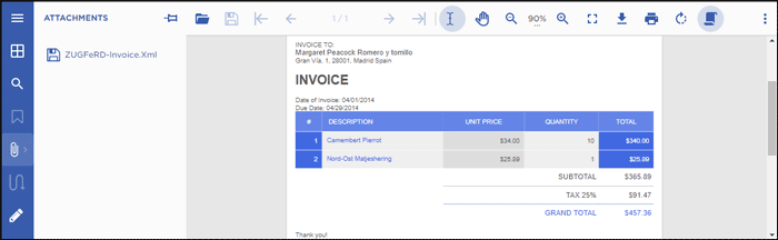 How to Create ZUGFeRD-compliant PDF Invoices in C#