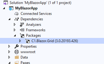 Upgrading the Blazor HTML Table with FlexGrid