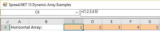 Set dynamic array formula using new Formula2 property