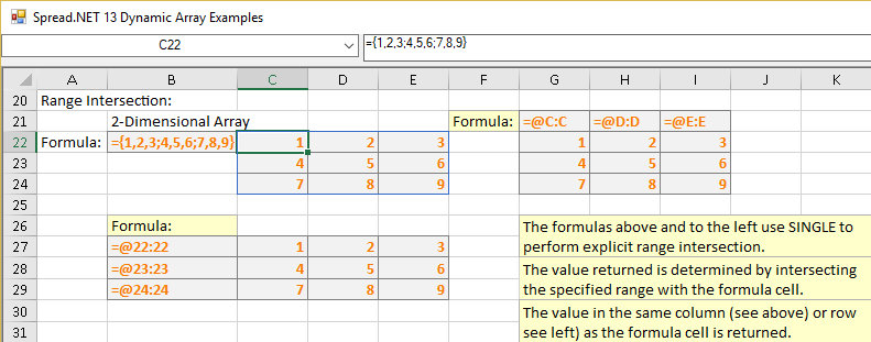 SINGLE function example 2