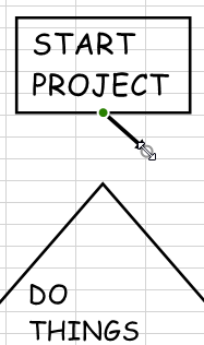 Connect Shapes Using Arrow