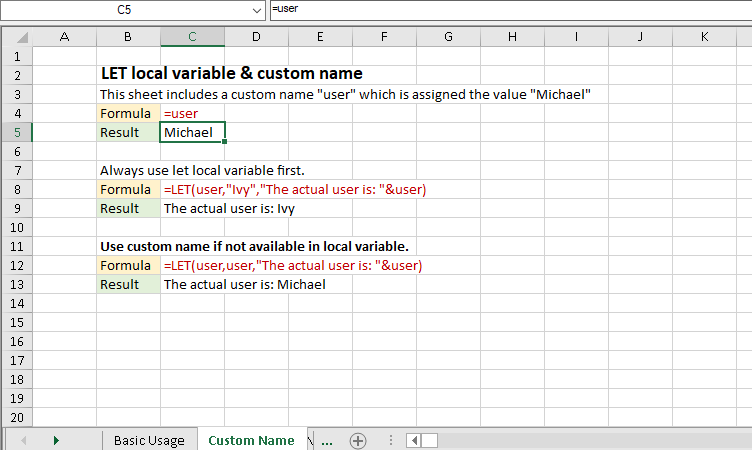 New Excel LET Function Enhances Calculation Performance
