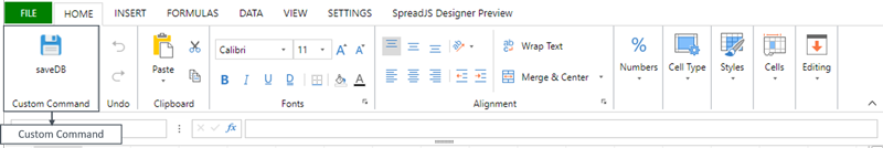 Introduction to the SpreadJS Designer Component