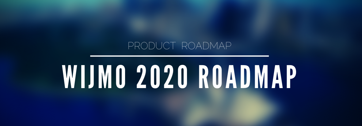 Wijmo 2020 Roadmap