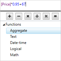 .NET Expression Editor Read your formulas more easily with syntax highlighting