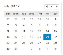 Calendar for JavaScript | Wijmo