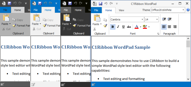 WinForms Themes