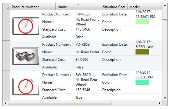 DataGrid for WPF | ComponentOne