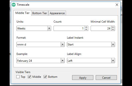 GanttView for WPF | ComponentOne
