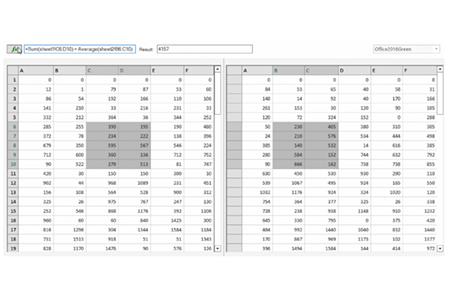 .NET WinForms에서 Excel과 유사한 수식 입력줄 만들기