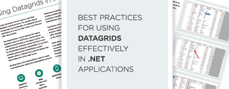 Best Practices for Using DataGrids Effectively in .NET Applications