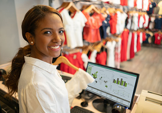 Retail Business Analytics, Dashboards, Custom Reports